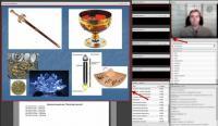 Онлайн-класс для занятий, демонстрация доски